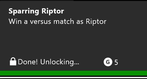 done unlocking